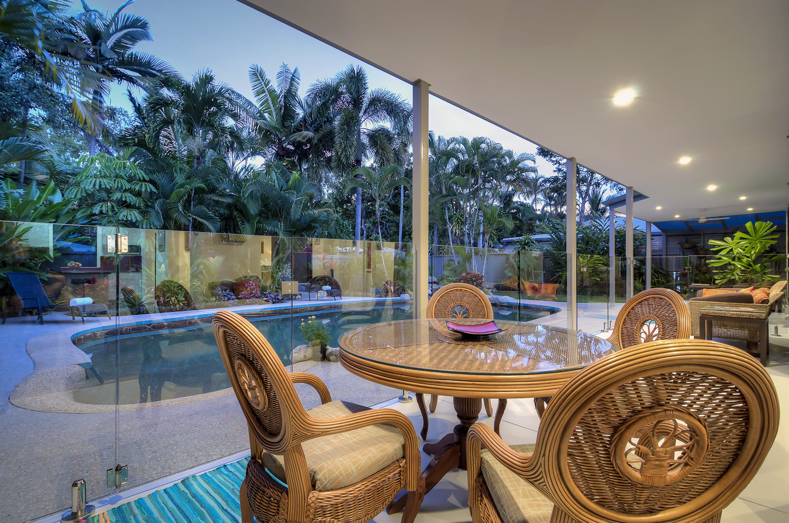 Coral Breeze is a lovely tropical retreat. It has a wonderful ambient feel taking in the magnificent tropical climate with excellent air flow.